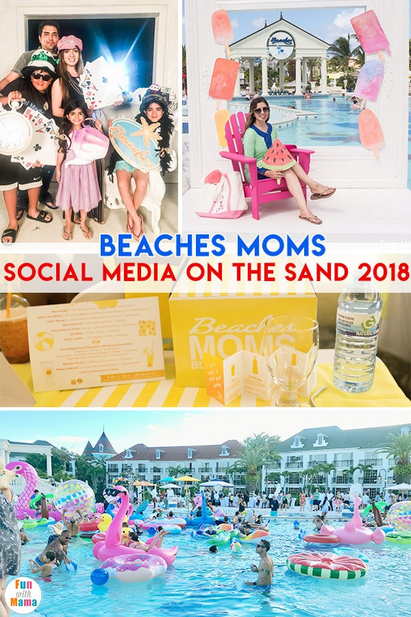 Beaches Moms Social Media On The Sand 2018 Fun With Mama