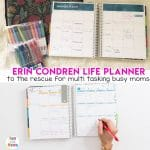 Erin Condren Life Planner To The Rescue!
