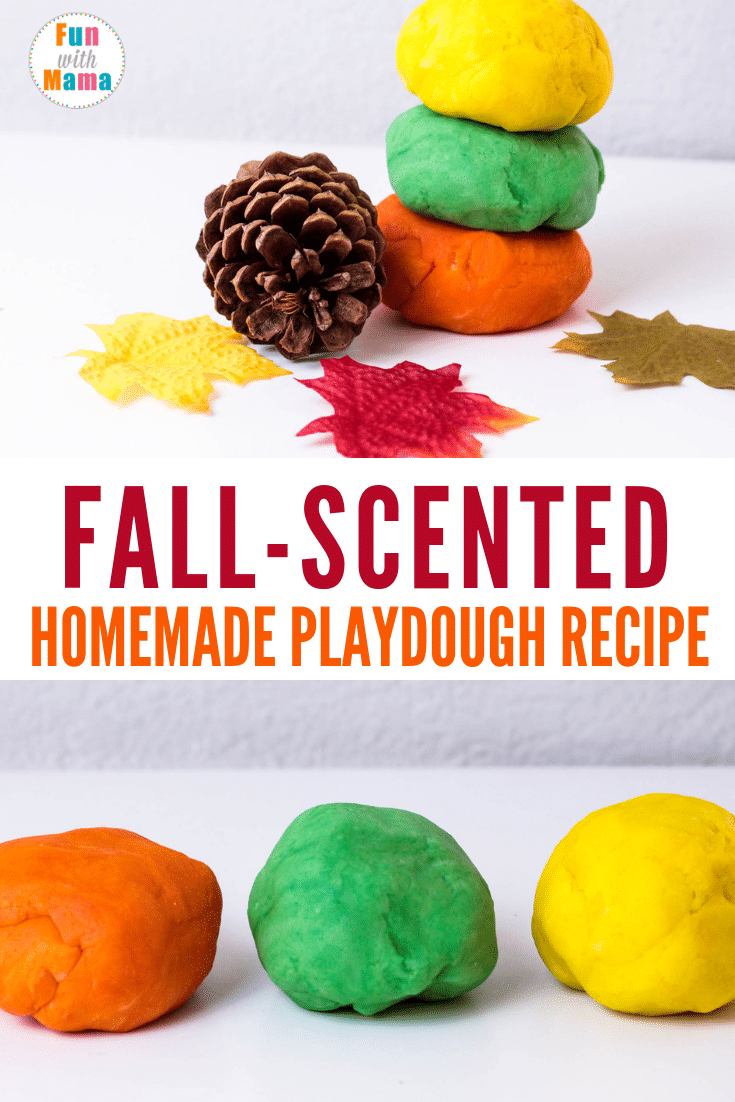 Fall Scented Cooked Playdough Recipe Fun With Mama