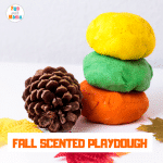 Fall Scented Cooked Playdough Recipe