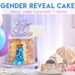 10 Gender Reveal Cake Ideas That POP