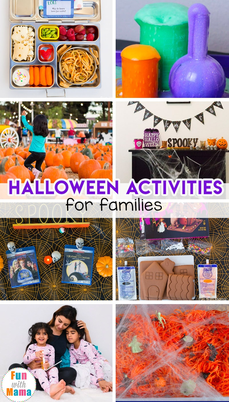 Halloween Activities for kids and families