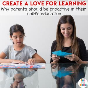 how to help a child love to learn