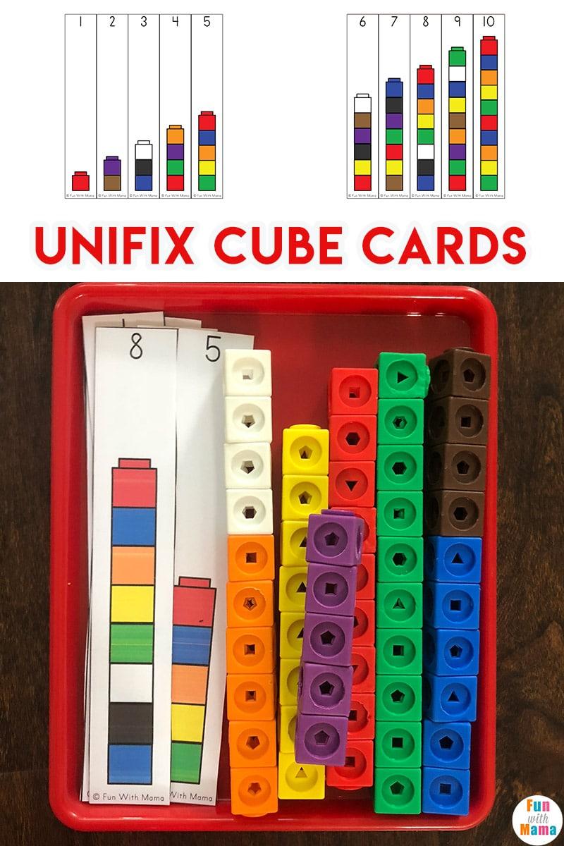 unifix cube printables