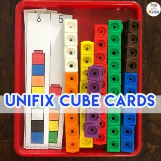 Unifix Cubes For Preschool Math