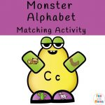 Beginning Sound Monster Matching