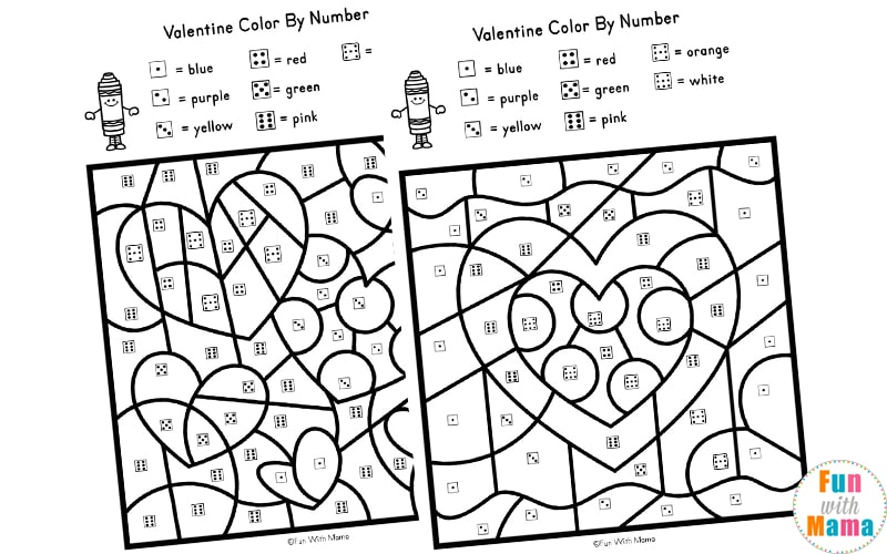 Valentine's Day Coloring Pages for Kids | Family Activities ... | 500x800