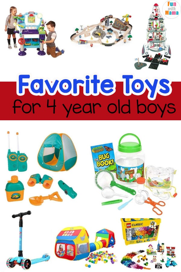 toys for 4 year olds
