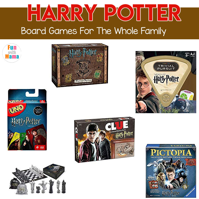 harry potter board games