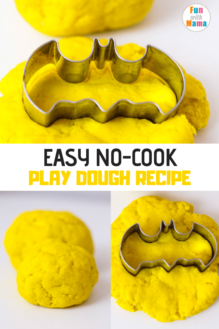 Learn how to make this playdough recipe no cook easy homemade version.