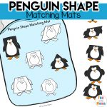 Penguin Shape Matching Mats