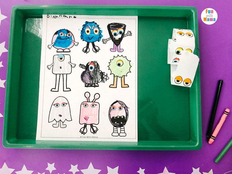 printable art activity for kids