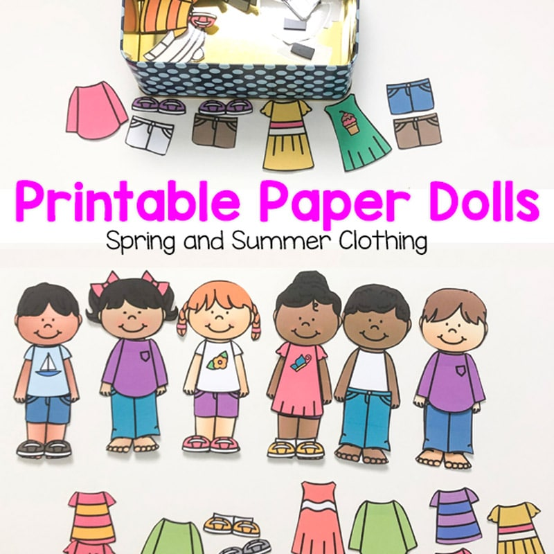This is a picture of Printable Doll for diy