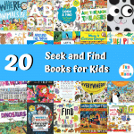 20 Seek and Find Books for Kids