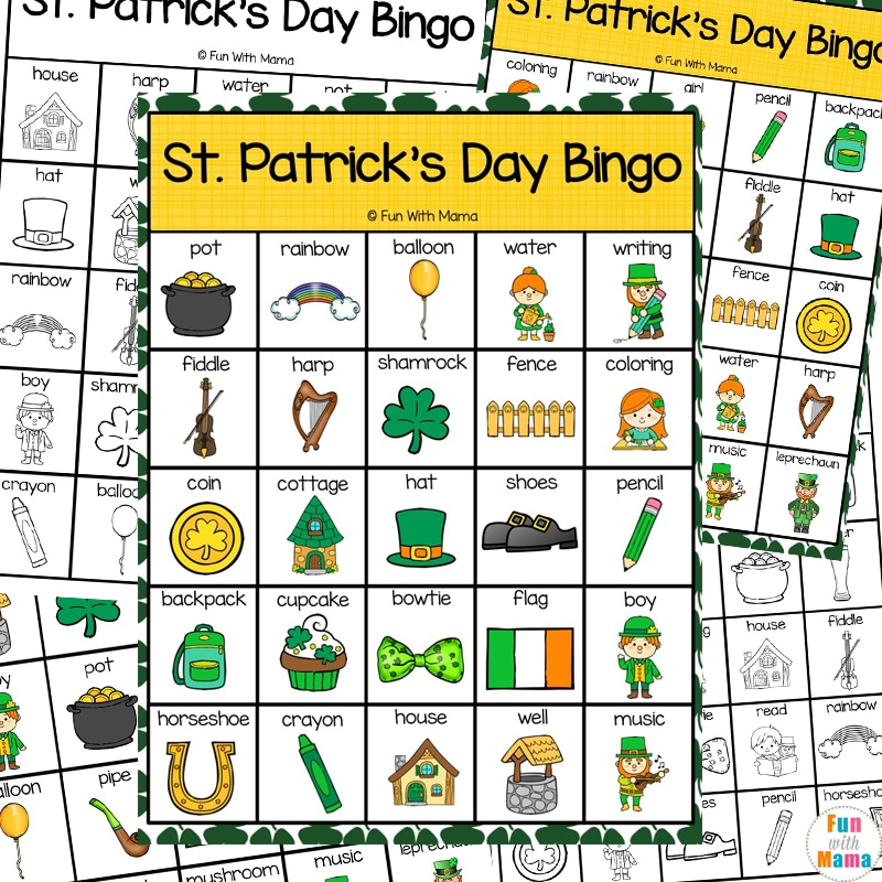 St. Patrick's Day Bingo Printable