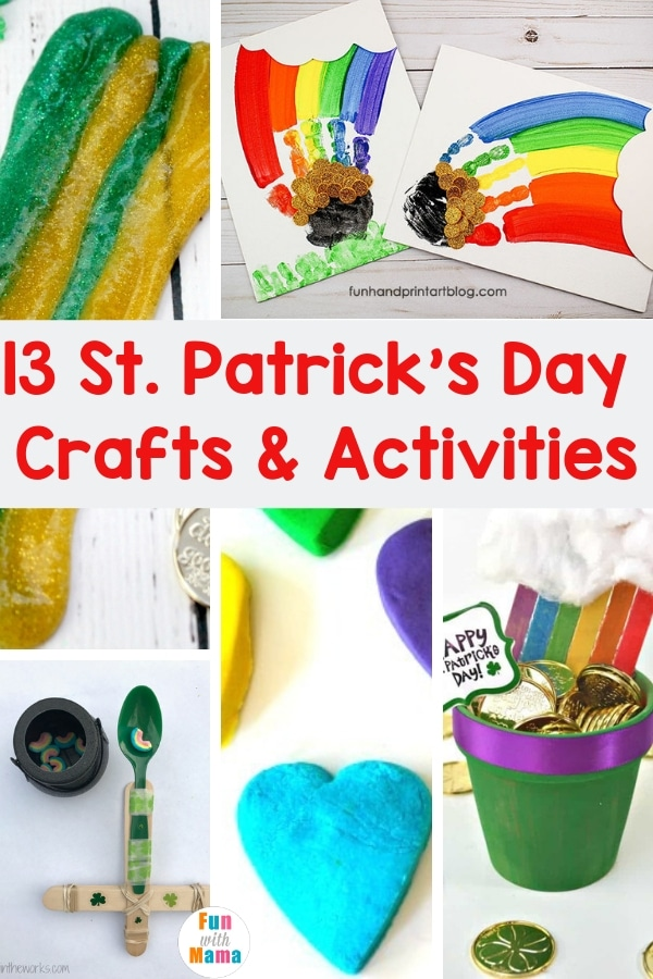 13 St Patrick S Day Crafts And Activities For Kids Of All Ages