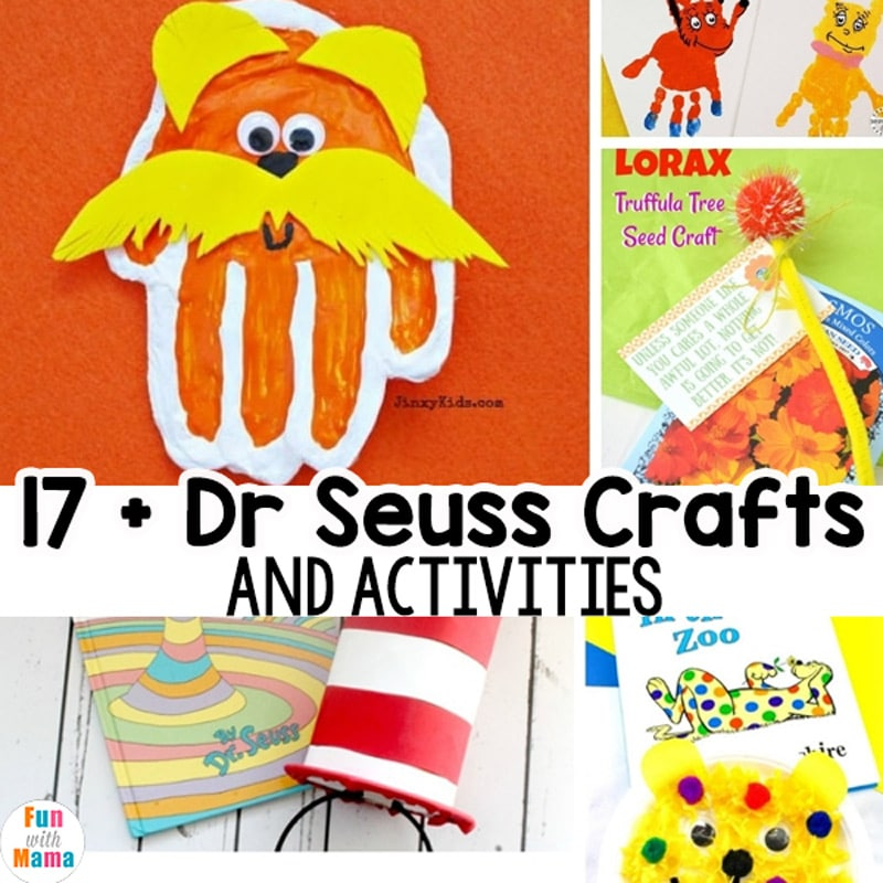 17 Dr Seuss Crafts For Kids Fun With Mama