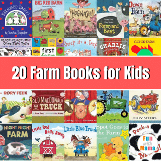 20 Farm Stories and Books for Kids