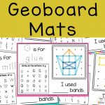 Geoboard Patterns and Mats – Geoboard Activity for Fine Motor Skills