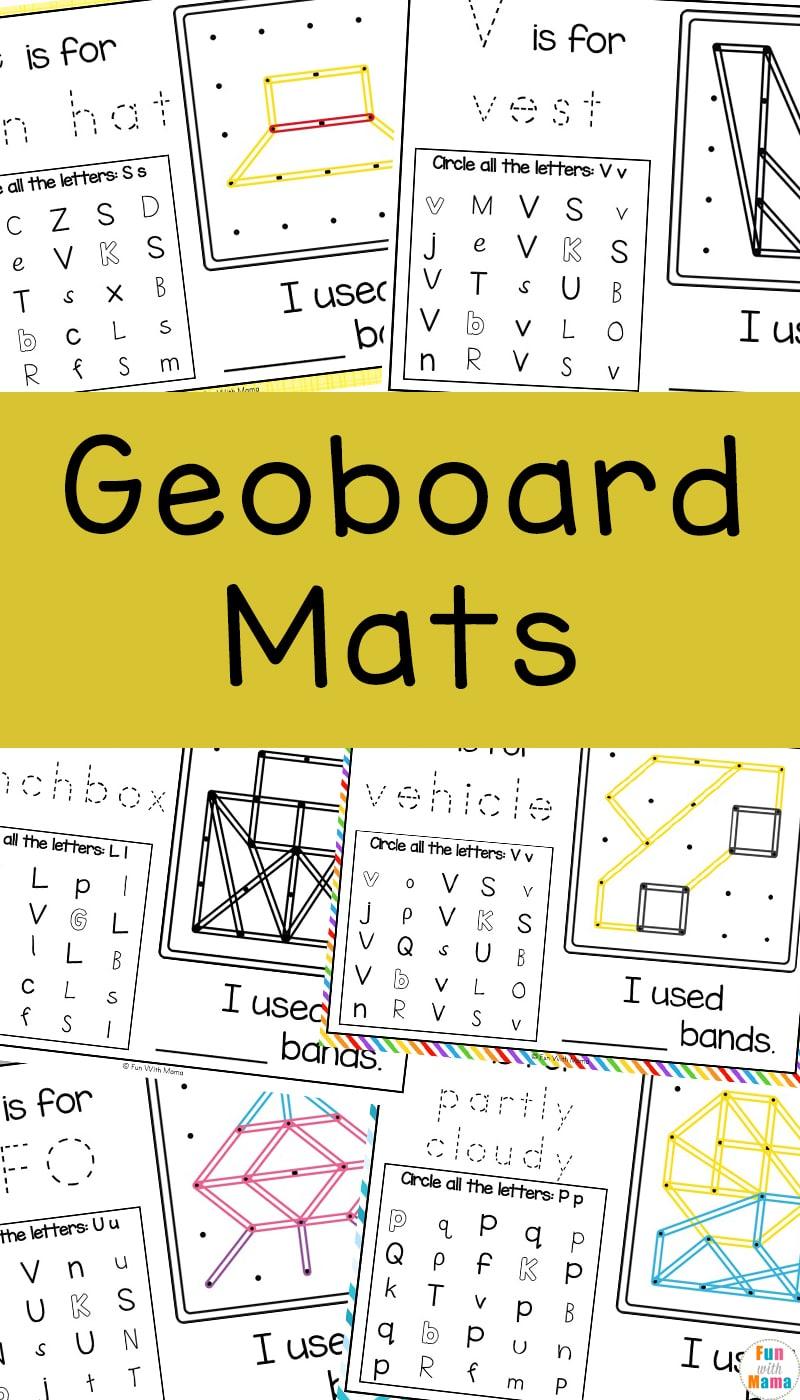 geoboard activities for kids