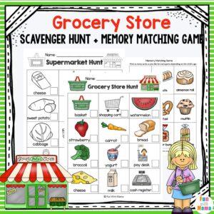 grocery scavenger hunt