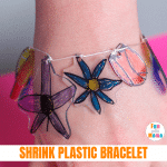 Shrinky Dink Bracelet- The Perfect Mother's Day Craft!