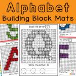 Lego Letters – Lego Alphabet Mats