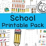 Back To School Activities Printable Pack