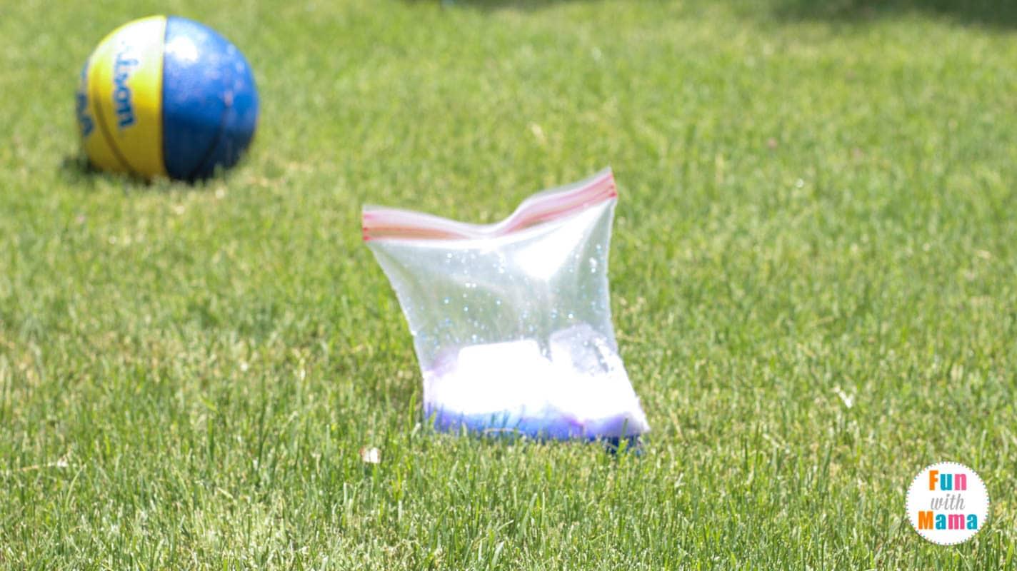 exploding ziplock bag science experiment