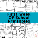 First Day of School Activities + Printables
