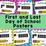First Day of School Signs + First day of Kindergarten Signs