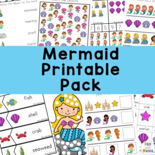 mermaid activities