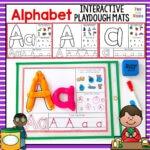 Alphabet Playdough Mats – Interactive