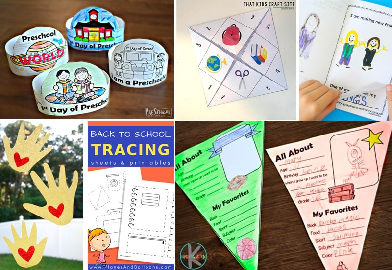 Fun First Day of School Printables