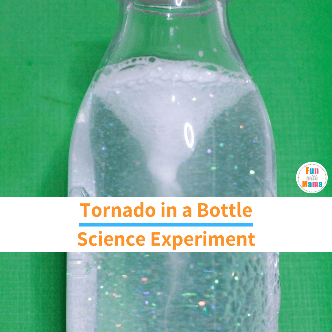 how to create a tornado in a bottle