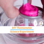 Homemade Thermometer Science Experiment – Making a DIY STEM Thermometer