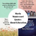 Beloved Maria Montessori Quotes