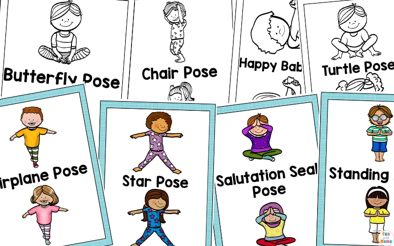 Yoga Cards For Kids Great For Brain Breaks Fun With Mama