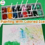 Painting with Colored Ice