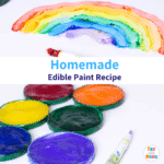 Edible Paint For Baby Finger Paint