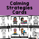 Calming Strategies Calm Down Cards