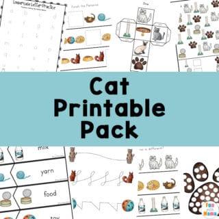 cat printable