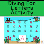 Diving for Letters Activity – Alphabet Learning for Preschoolers