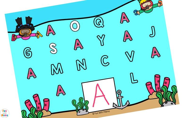 alphabet letter activities for preschoolers