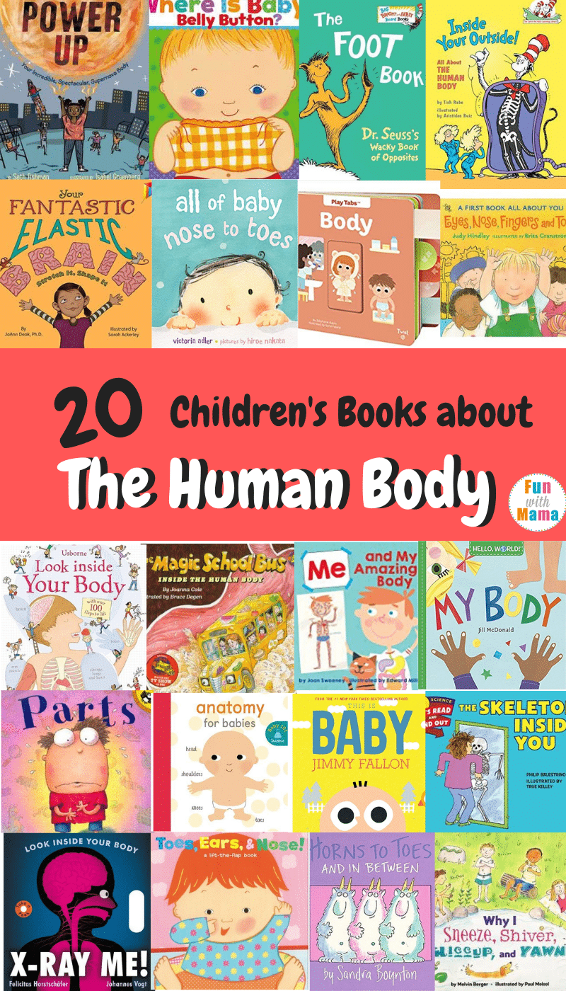 20 Children's Books about the Human Body