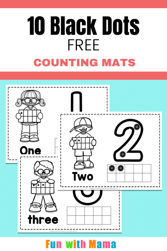 Counting To Ten Counting Mats for Preschoolers