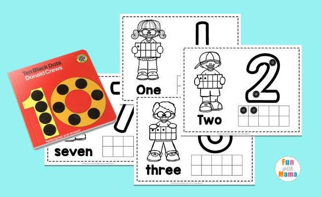 Number Practice Sheets for Preschoolers