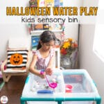 Halloween Water Play – Sensory Play for Toddlers