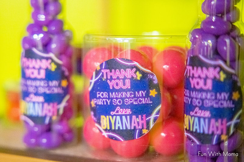 glow in the dark party bags