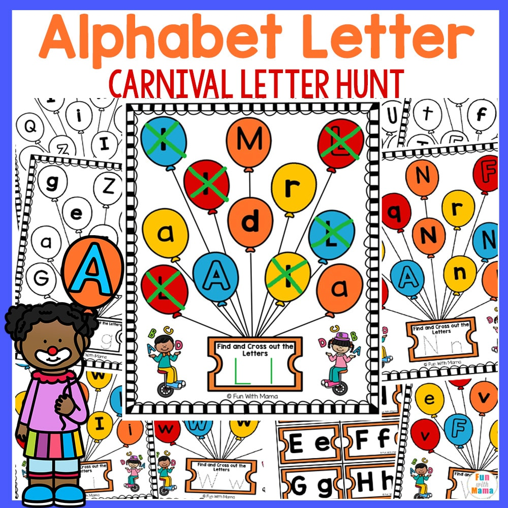 preschool letter worksheets learning